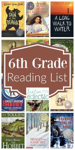 6th-Grade-Reading-List