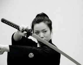 Kembu sword dancing demonstration