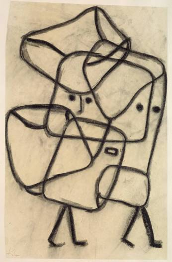 Burdened Children 1930 by Paul Klee 1879-1940