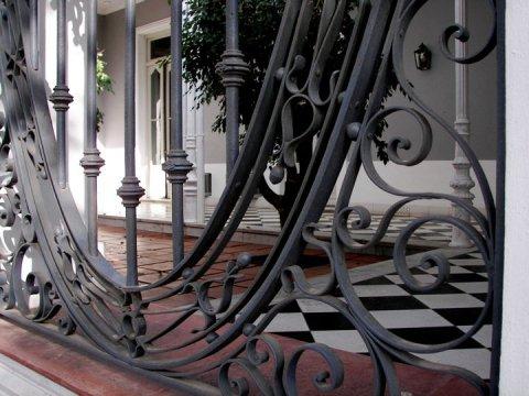 Rosario d'Areco iron gate