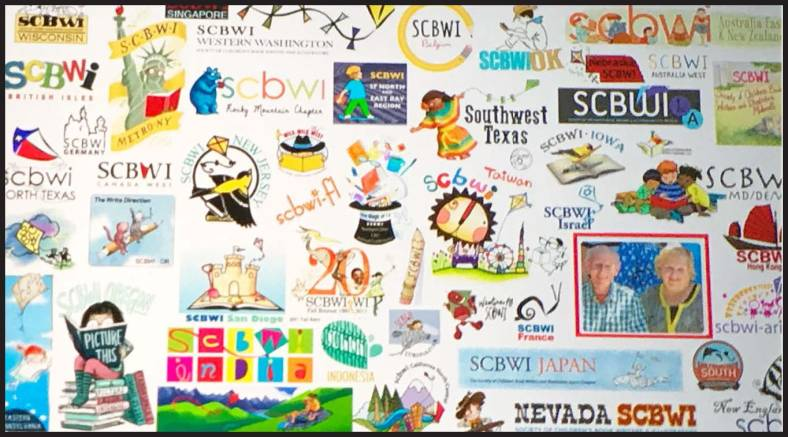 SCBWI collage