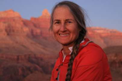Thea Gavin at Grand Canyon by Nina Rehfeld